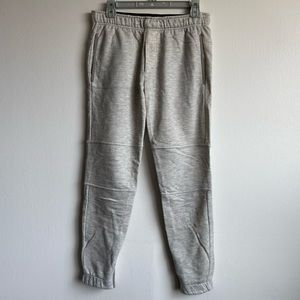 Theory grey joggers size small.
